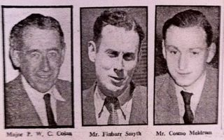 Major Colan, Finbarr Smyth, Cosmo Meldrum