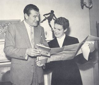 Jack Hawkins and Muriel Hanning-Lee