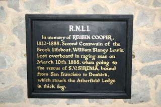 Brook St Mary RNLI plaque 3