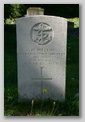 East Cowes Cemetery : C H Williams