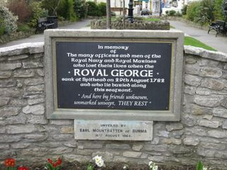 Ryde Royal George memorial 1782