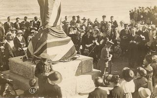 Sandown War memorial unveiling